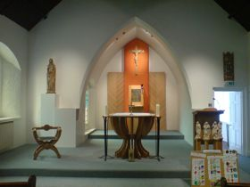 The sanctuary after refurbishment